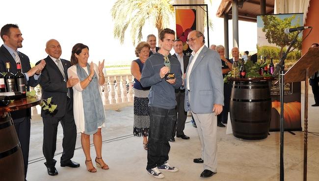 Nico Terol apadrina la Vendimia Abierta 2012 de Vinos Alicante DOP