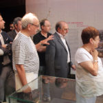 Las autoridades visitan la exposición