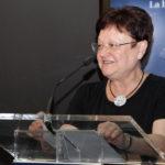 La Presidenta de la Diputacion, Luisa Pastor