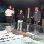 Las autoridades visitan la exposición Deltebre I