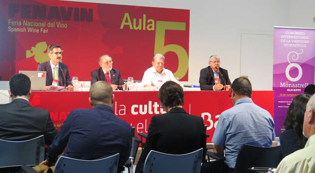 Presentación Congreso Internacional Monastrell Alicante en Fenavin 2015