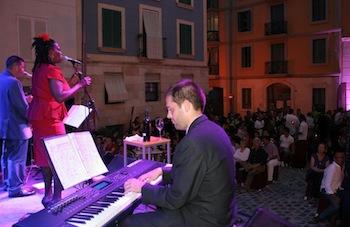 Jazz y vino a la fresca. Winecanting Alicante 2012