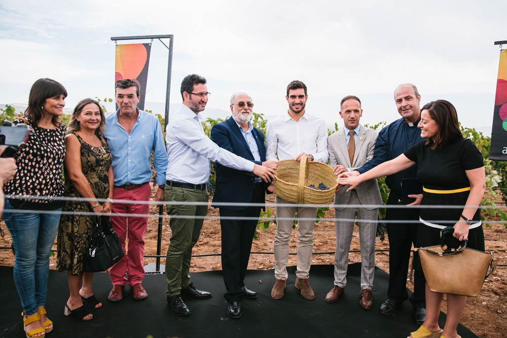 Jorge Ureña padrino añada 2019 Vinos Alicante DOP