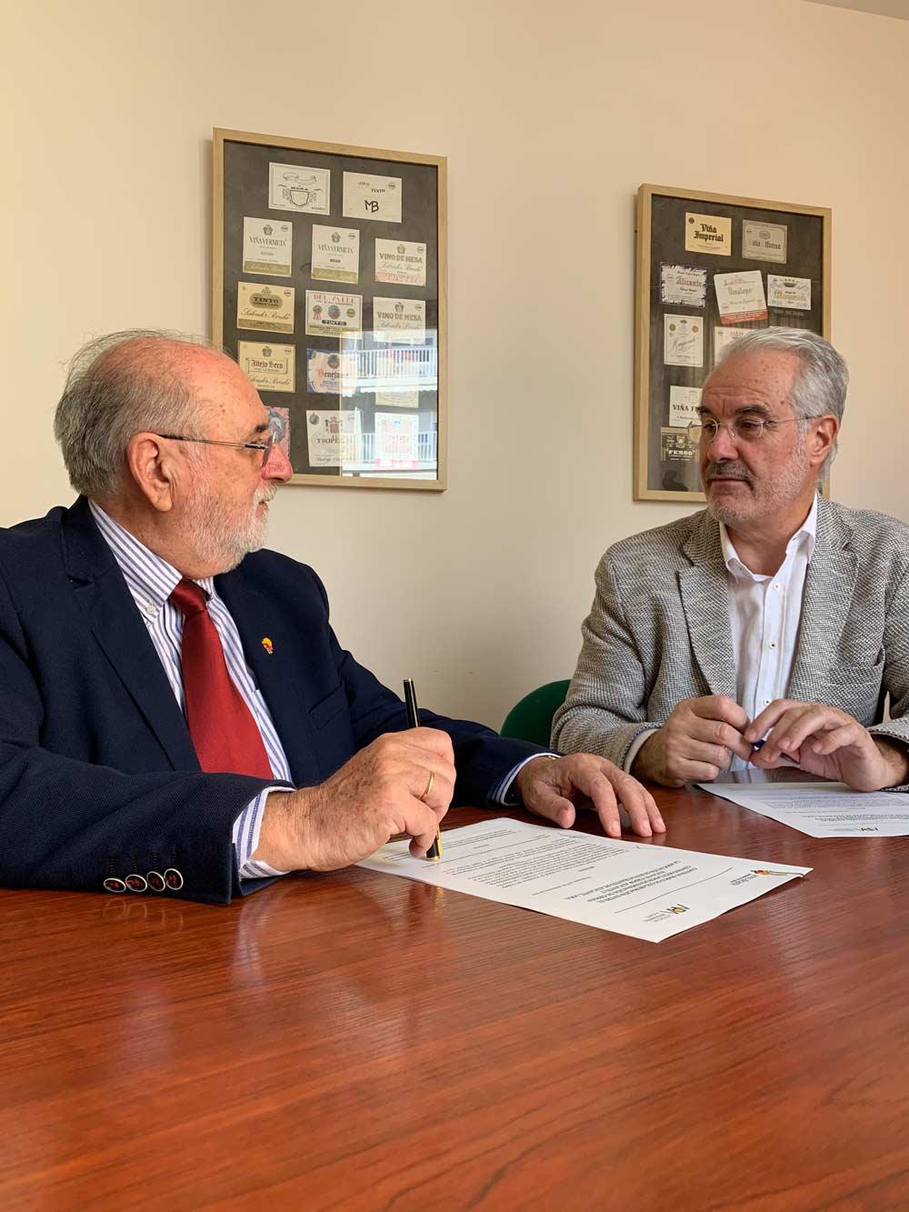 Vinos Alicante DOP y ARA firman convenio de colaboración en Alicante